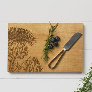 Thistle Cheese Board & Knife Set