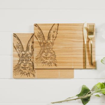 Product Image 2 Hare Veneer Place Mats at JustSlate