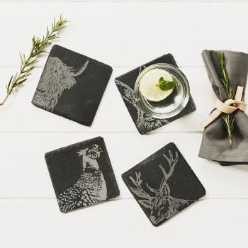 Buy 4 Country Animals Coasters