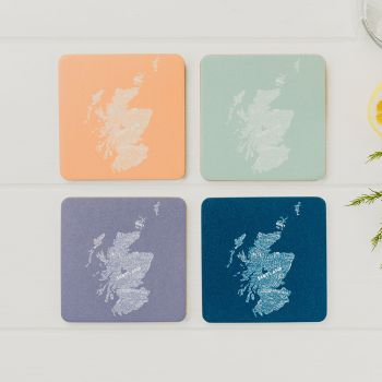 Small image of Scotland In Colour Mixed Coasters