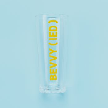 Small image of Bevvy(Ied) Pint Glass (Gift Boxed)
