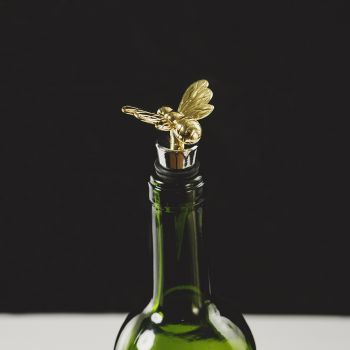 Main image of Gold Bee Bottle Stopper