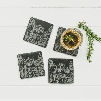 Small image of 4  Country Friends Coasters