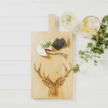 Small image of Stag Prince Large Oak Serving Paddle