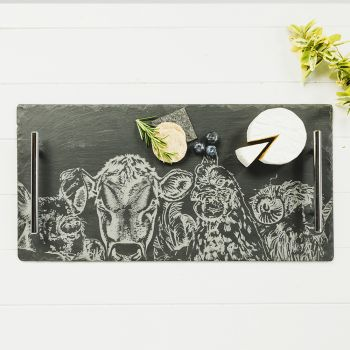 Small image of Large Country Friends Serving Tray