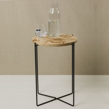 Buy Round Sycamore Bee Occasional Table