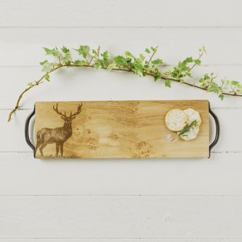 Monarch Stag Oak Serving Tray